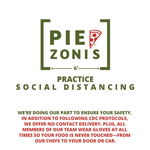 Piezoni's Social Distancing Message